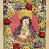 Galerie religieuse. Sainte Claire, vierge