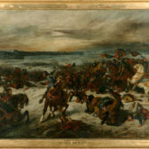 Eugène Delacroix, La Bataille de Nancy, 1829-1833 – coll. musée des Beaux-Arts de Nancy
