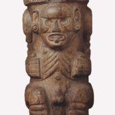 Zémi (urne funéraire) taïno  Grandes Antilles, Puerto Rico ou Saint-Domingue